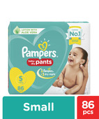 PAMPERS BABY DRY PANTS - SMALL 86S