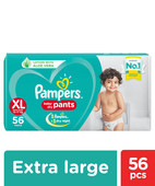PAMPERS BABY-DRY PANTS XL 56S
