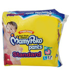 MAMYPOKO PANT STYLE STANDARD DIAPERS - L 17S