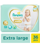PAMPERS PREMIUM CARE PANTS - XL 36S