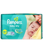 PAMPERS DIAPERS NB-S 46S