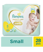 PAMPERS PREMIUM CARE PANTS S 28S
