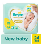 PAMPERS PREMIUM CARE PANTS NB 24S