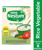 NESTUM FORTIFIED BABY CEREAL STAGE 2, RICE VEGETABLES, 300GMS