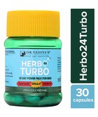 DR VAIDYAS HERBO24TURBO- HELPS TO IMPROVE VIM, VIGOR AND VITALITY IN MALES