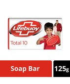 LIFEBOUY TOTAL 10 GERM PROTECTION SOAP BAR 125GM