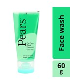 PEARS OIL CLEAR GLOW FACE WASH 60GM