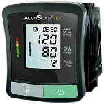AccuSure TD 1209 Advanced Features BP Monitor with Adapter