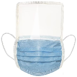 Impex 3 Ply Mask with Soft Plastic Face Shield