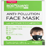Bodyguard Anti-Pollution Mask with Activated Carbon, N99 + PM2.5 Large