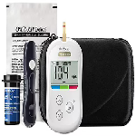 OneTouch Verio Flex Glucometer (Box of 10 Test strips Free)
