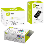 My life Combo Pack of Unio Blood Glucose Monitoring System with 10 Strips, Blood Glucose 50 Tes