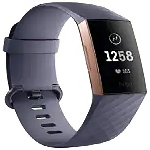 Fitbit Charge 3 Smart Watch Rose Gold,Blue Gray