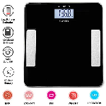 MCP Thick Tempered Glass Electronic Digital Personal Bathroom Health Body Fat/Hydration Monitor