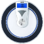 MCP Camry Round Personal Digital Bathroom Weighing Scale