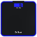 Dr Trust USA Electronic Supernova Digital Personal Weighing Scale Black