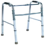 Entros SC4005S Premium Quality Height-Adjustable Reciprocal Walker with Single Hand & Single Bu