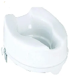 MCP Commode Raiser without Lid White 6inch