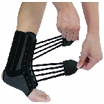 Health Point WH917 Ankle Brace with Double String Strap Wrapping XL