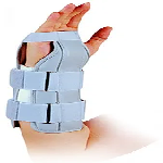 Health Point OH-302 10 inch Forearm Splint with 2 Strays Free Size