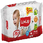 LuvLap Baby Wipes (packet of 80 wipes)