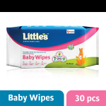 Littles Soft Cleansing Baby Wipes 30's