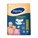 Dignity Overnight Adult Diapers (XL) 10'S
