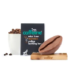 MCaffeine Naked & Raw Espresso Coffee Bathing Bar Soap (pH 5.5) For Deep Cleansing with Pure Co