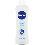 NIVEA Talcum Powder, Pure, For Gentle Fragrance & Reliable Protection Against Body Odour (100g)