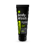 Ustraa Body Wash - Deep Detox Cleansing - Activated Charcoal (For Men) 200 ml